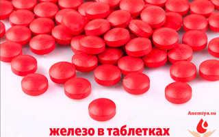 Безопасный и эффективный — препарат железа в таблетках